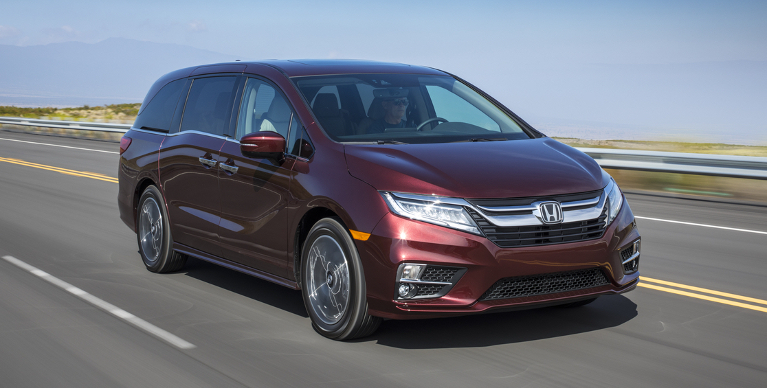 10 best family cars 2018 driving today for Honda odyssey lease price