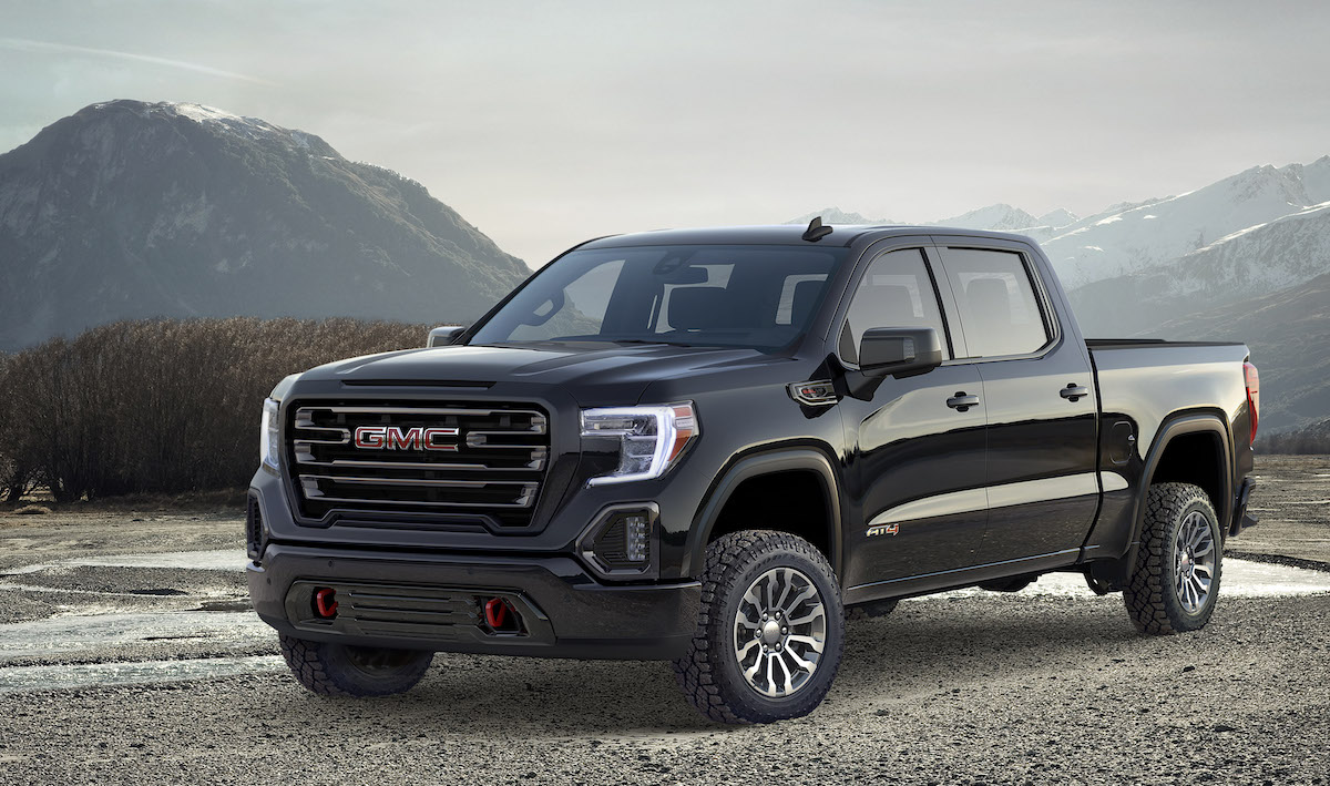 2019 gmc sierra at4 exclusive interview audio driving today. Black Bedroom Furniture Sets. Home Design Ideas